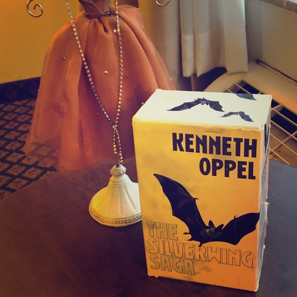 Kenneth Oppel The Silverwing Saga x3 Paperback